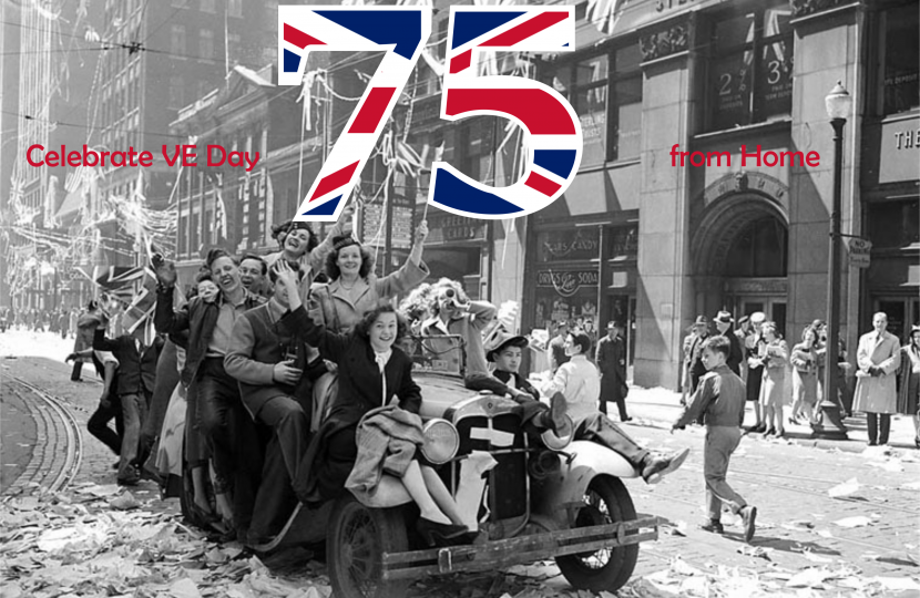 Celebrate VE-day from home