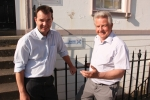 Pictured - Guy Opperman MP and Bill Grant MP